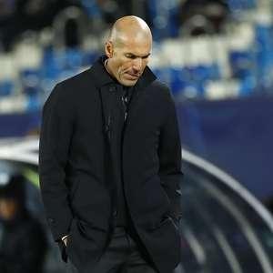 Em meio à crise no Real, Zidane testa positivo para covid-19