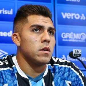 César Pinares é apresentado e explica decisão pelo Grêmio