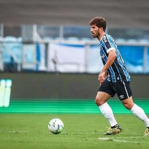 Atleta com mais jogos pelo Grêmio na temporada, Lucas Silva projeta duelo com o Corinthians