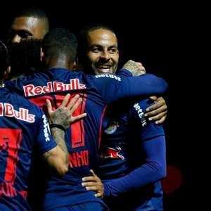 Bragantino atropela o Bahia por 4 a 0 e se afasta do Z4