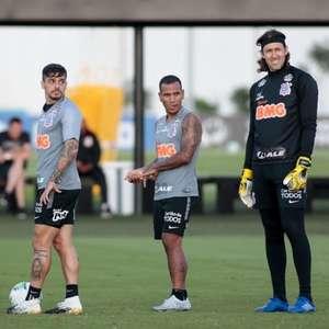 Corinthians encerra preparação para pegar o Grêmio; veja provável time