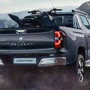 Picape Peugeot Landtrek vai dar banho de potência na Hilux