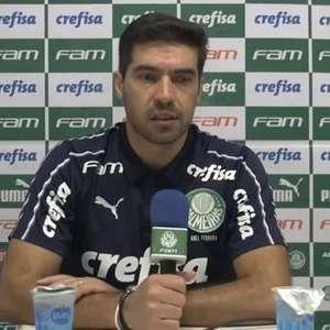 """PALMEIRAS: Abel Ferreira analisa derrota para o Goiás e ressalta: """"disse que não íamos ganhar sempre"""""""