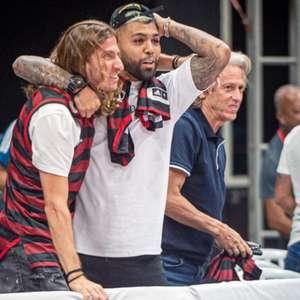 Com Gabigol e Filipe Luís de volta, Flamengo divulga relacionados para enfrentar o Racing, na Argentina
