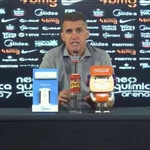 """CORINTHIANS: Mancini comenta expulsões de Marlon e Otero e critica árbitro: """"Perdeu um pouco a mão"""""""