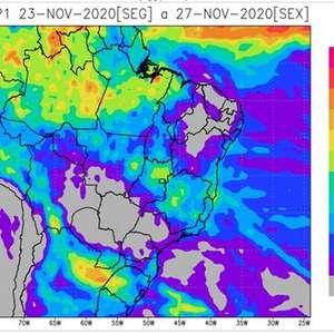 Calor e tempo seco no Centro-Oeste do Brasil