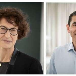 O casal de médicos por trás da vacina da Pfizer para combater a covid-19