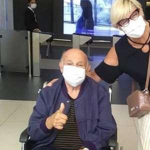 Ídolo do Santos, Pepe recebe alta de hospital após se ...