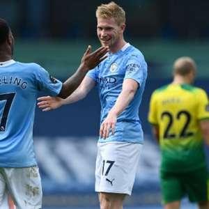 Manchester City trabalha para renovar com Sterling e De ...