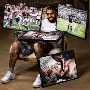 Gabigol lança coleção de quadros autografados da final ...