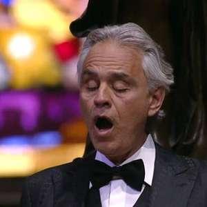 Andrea Bocelli anuncia concerto de Natal via streaming