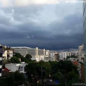 Antes da chuva, o calor aumenta muito no Sul do Brasil