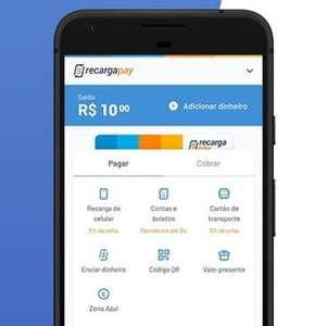 Como excluir uma conta do RecargaPay