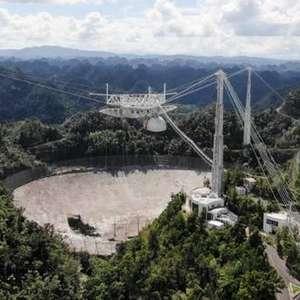 Radiotelescópio de Arecibo será desativado por risco de ...