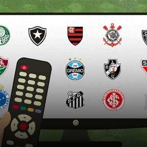 Estudo mostra os clubes que mais faturaram grana da TV de 2010 a 2019