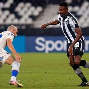 Tarefa difícil: Botafogo vai enfrentar os quatro melhores colocados do Brasileirão em sequência