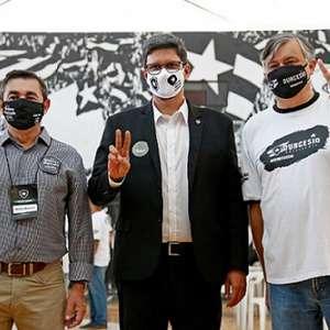 Em clima de paz, candidatos à presidência do Botafogo ...