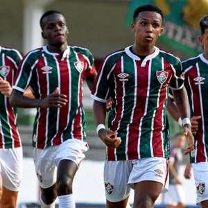 Com três gols de Kayky, Fluminense bate o Porto Vitória e se classifica na Copa do Brasil sub-17