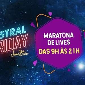 Astral Friday: veja a programação completa nas 12 horas ...