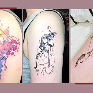 Tatuagem de Sagitário: 14 inspirações de tattoo do signo