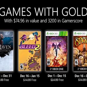 Xbox Live Gold de dezembro tem Bleed 2, Saints Row e ...