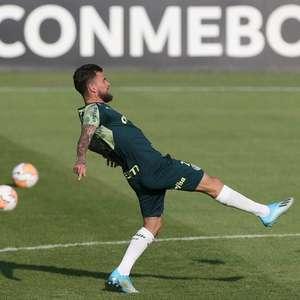 Lucas Lima recebe nova chance como meia-armador do Palmeiras