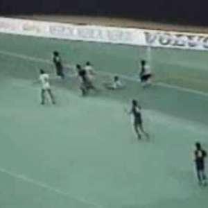 Maradona enfrentou Fluminense em sua despedida do Barcelona