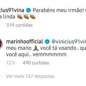 Marinho faz campanha por Vina, do Ceará, no Santos: ...