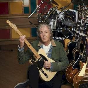"""Paul McCartney lança """"McCartney III"""" em vinil laranja de ..."""