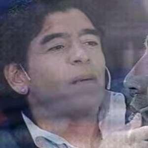 Na TV, Maradona disse o que escreveria em sua própria lápide