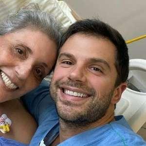 Duda Nagle posta foto ao lado da mãe, Leda: 'firme e forte'