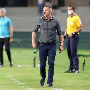 """Mancini explica queda no 2º tempo: """"A equipe sentiu"""""""