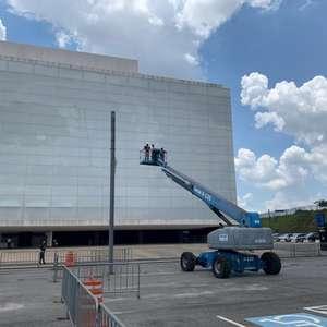 Corinthians anuncia início da instalação da nova fachada ...