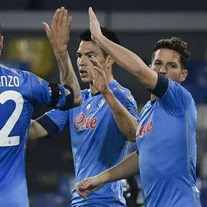 Com homenagens a Maradona, Napoli vence o Rijeka na Liga ...