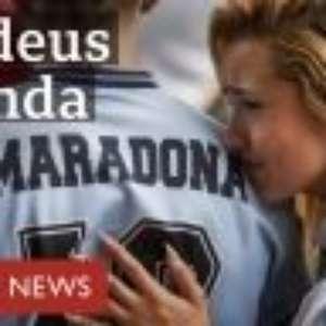 Diego Maradona: o adeus à lenda do futebol na Argentina e no mundo