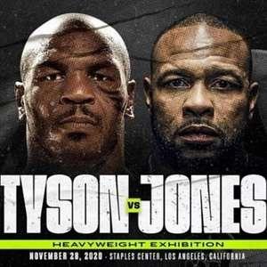 Exibição Tyson x Jones é o pontapé inicial para a liga das lendas nos EUA