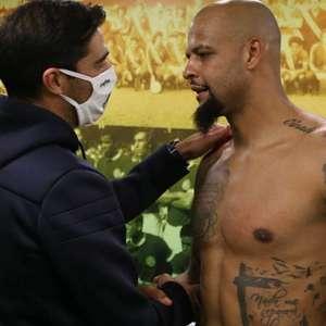 Felipe Melo rasga elogios para Abel Ferreira: 'Um cara feito para o Palmeiras'