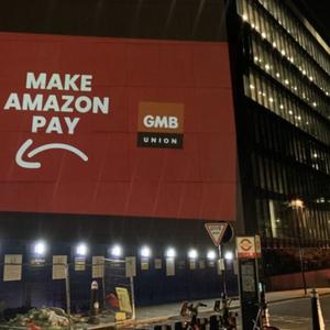 Funcionários da Amazon protestam durante Black Friday em ...