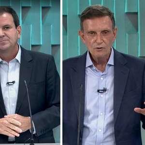 Debate entre Paes e Crivella na Globo tem troca de ...
