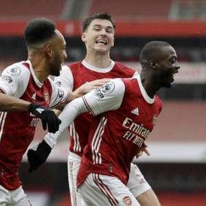 Arsenal recebe o Wolverhampton pelo Inglês neste domingo