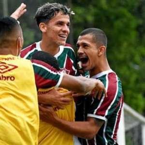 Fluminense vence o RB Bragantino na estreia da segunda fase do Brasileirão Sub-23