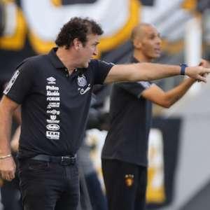 Cuca valoriza segundo tempo 'precioso' do Santos e ...
