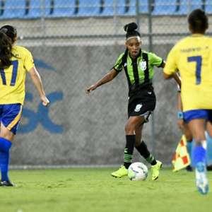 América-MG perde para o Tiradentes-PI e está fora do Brasileiro Feminino Série A2