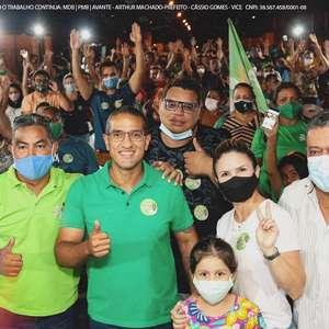 Arthur Henrique, do MDB é eleito prefeito de Boa Vista