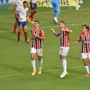 Últimas vitórias do São Paulo contam com reação no 2º tempo