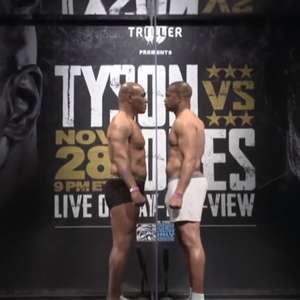 Em duelo cercado de expectativa, Mike Tyson retorna aos ...