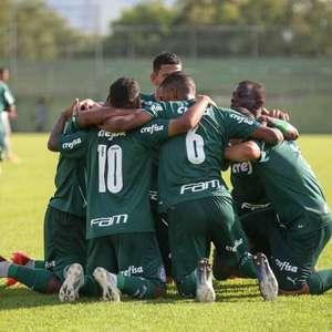 Com reforço de 'profissionais', sub-20 do Palmeiras vence Vasco