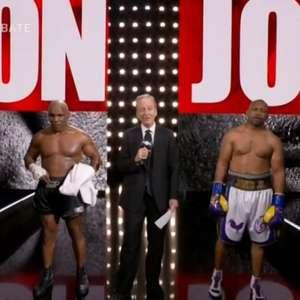 Em luta 'mais ou menos' de exibição, Tyson vai pra cima ...