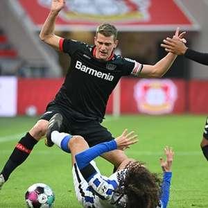 Bayer Leverkusen e Hertha Berlin empatam sem gols pela ...