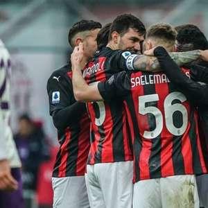 Milan vence Fiorentina e se isola na liderança do ...